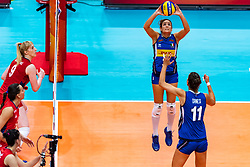20-10-2018 JPN: Final World Championship Volleyball Women day 21, Yokohama<br /> Serbia - Italy 3-2 / Carlotta Cambi #3 of Italy