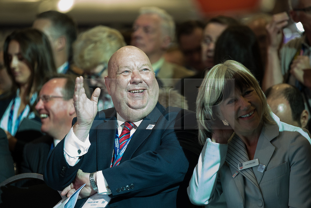 © Licensed to London News Pictures . 13/06/2016 . Liverpool , UK . The Mayor of Liverpool JOE ANDERSON at the International Festival for Business at the Liverpool Exhibition Centre . Photo credit: Joel Goodman/LNP