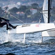 ©María Muiña : www.sailingshots. Campeonato España Catamaranes 2018