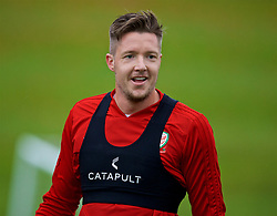 CARDIFF, WALES - Saturday, October 13, 2018: Wales' goalkeeper Wayne Hennessey during a training session at the Vale Resort ahead of the UEFA Nations League Group Stage League B Group 4 match between Republic of Ireland and Wales. (Pic by David Rawcliffe/Propaganda)