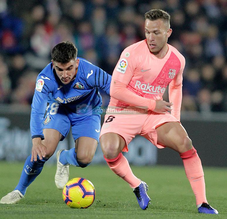 صور مباراة : خيتافي - برشلونة 1-2 ( 06-01-2019 ) 664964-002