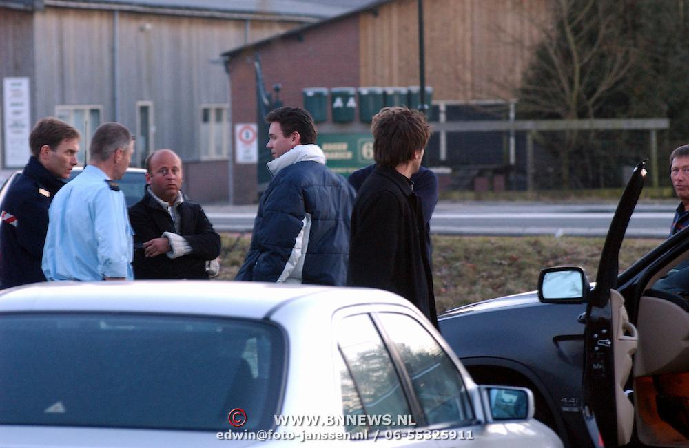 Xander de Buisonje in gevecht met fotograaf Loosdrecht
