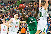 26102012 - Euroleague Basketball Union Olimpija vs Panathinaikos