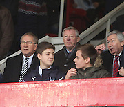 Sir Alex Ferguson was in the crowd as Dundee beat Aberdeen -  Dundee v Aberdeen, William Hill Scottish FA Cup 4th round at Dens Park<br /> <br />  - &copy; David Young - www.davidyoungphoto.co.uk - email: davidyoungphoto@gmail.com