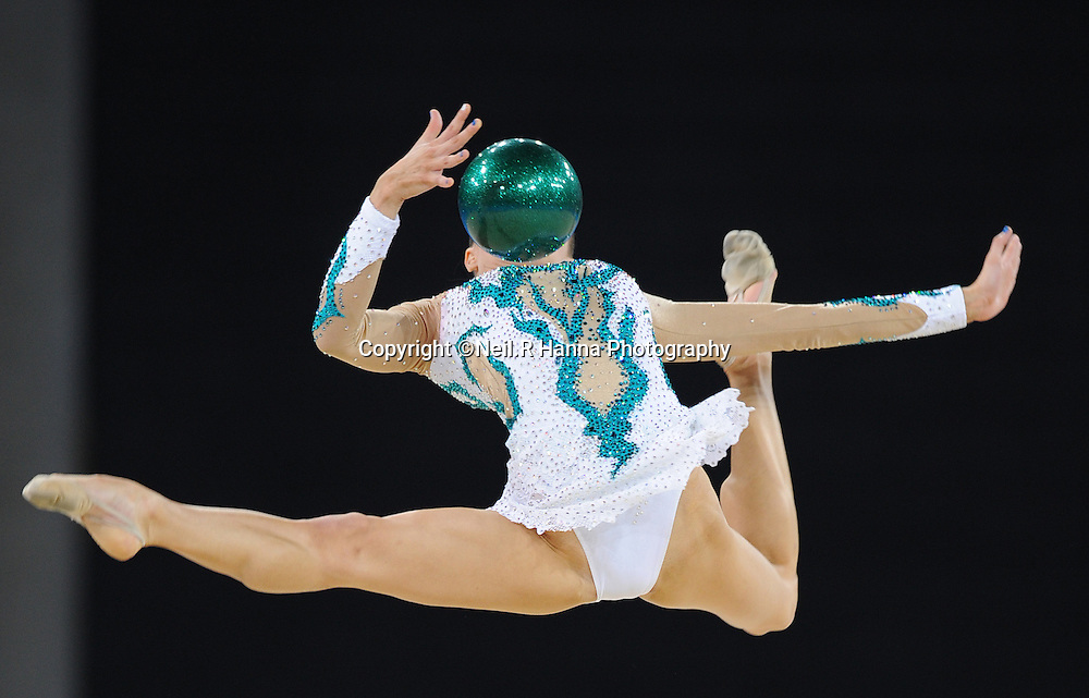 Commonwealth Games, Glasgow 2014<br /> The SECC Hydro<br /> Gymnastics Rhythmic - Individual All- Round<br /> <br /> Danielle Price of Australia<br /> <br /> <br /> Neil Hanna Photography<br /> www.neilhannaphotography.co.uk<br /> 07702 246823