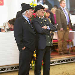 Mr Jim Burks and Mr T Brown<br /> Mares Judges