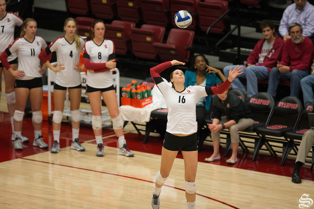 Brittany Howard (16), Women's volleyball v. ASU