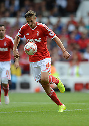 Nottingham Forest's Chris Cohen - Photo mandatory by-line: Alex James/JMP - Mobile: 07966 386802 09/08/2014 - SPORT - FOOTBALL - Nottingham - City Ground - Nottingham Forest v Blackpool - Sky Bet Championship - First game of the season