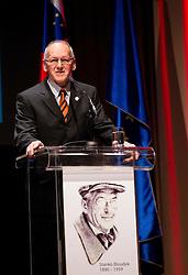 Miroslav Cerar at 48th Annual Awards of Stanko Bloudek for sports achievements in Slovenia in year 2012 on February 12, 2013 in Grand Hotel Union, Ljubljana, Slovenia. (Photo By Vid Ponikvar / Sportida)