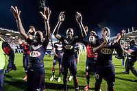 Joie Bordeaux / Cedric YAMBERE  - 12.04.2015 - Bordeaux / Marseille - 32eme journee de Ligue 1 <br />Photo : Caroline Blumberg / Icon Sport