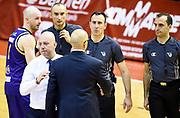 Massimiliano Menetti Francesco Vitucci<br /> Grissin Bon Pallacanestro Reggio Emilia - Fiat Auxilium Torino<br /> Lega Basket Serie A 2016/2017<br /> Reggio Emilia, 15/04/2017<br /> Foto A.Giberti / Ciamillo - Castoria