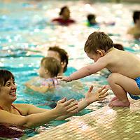 Swimming Class at Columbus Aquatics Center.