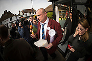 Al Murray - The Pub landlord on the campaign trail in Sandwich, 13th March 2015.