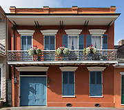 922 Ursulines Street in the French Quarter of New Orleans, Louisiana