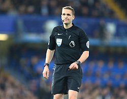 May 8, 2017 - Chelsea, Greater London, United Kingdom - Referee Craig Pawson.during Premier League match between Chelsea and Middlesbrough at Stamford Bridge, London, England on 08 May 2017. (Credit Image: © Kieran Galvin/NurPhoto via ZUMA Press)