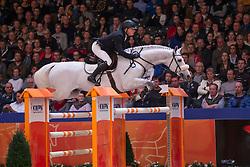 Greve Willem, (NED), Carrera<br /> Grote Prijs Springen<br /> KWPN Hengstenkeuring - 's Hertogenbosch 2016<br /> © Hippo Foto - Dirk Caremans<br /> 04/02/16