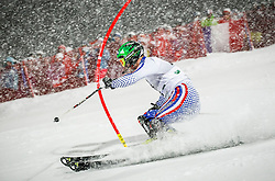 27.01.2015, Planai, Schladming, AUT, FIS Skiweltcup Alpin, Schladming, 1. Lauf, im Bild Alexander Khoroshiov (RUS) // Alexander Khoroshiov (RUS) during the first run of the men's slalom of Schladming FIS Ski Alpine World Cup at the Planai Course in Schladming, Austria on 2015/01/27, EXPA Pictures © 2015, PhotoCredit: EXPA/ Erwin Scheriau