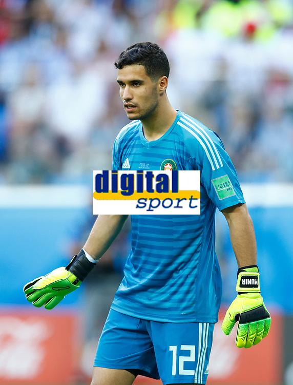 Monir El Kajoui (Morocco)<br /> Saint Petersburg 15-06-2018 Football FIFA World Cup Russia  2018 <br /> Morocco - Iran / Marocco - Iran <br /> Foto Matteo Ciambelli/Insidefoto