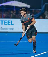 BHUBANESWAR, INDIA - Robbert Kemperman (Ned)  tijdens de  finale tussen België en Nederland bij het WK Hockey heren in het Kalinga Stadion. COPYRIGHT KOEN SUYK