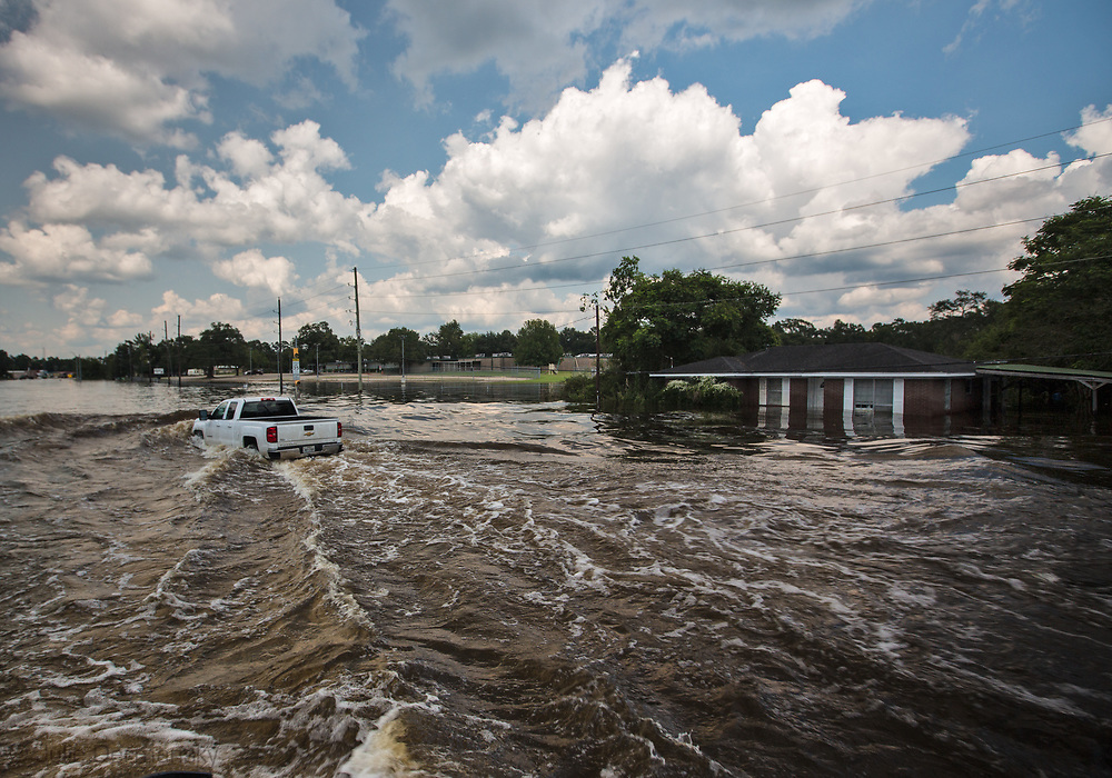 Sept 1, 2017 Vidor, Texas Highway 1131. Hurricane Harvey, was downgraded to a tropical storm when it flooded Vidor, Texas and the sourounding area.