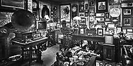 """Fran is a """"collector extraordinaire"""" of polictical and military memorabiliia. Each piece has a story and/or signature of the person depicted, including Churchill, Eisenhower, Kennedy, and more.  Aspect Ratio 1w x 0.5h."""