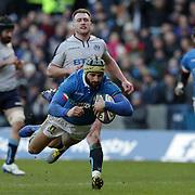 20190202 Rugby, 6 Nazioni : Scozia vs Italia