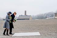 8-2-2017 - BUCHENWALD  King Willem-Alexander and Maxima  Visit to Buchenwald concentration camp King Willem-Alexander and Maxima will visit from Tuesday 7 to Friday, February 10th, 2017 a working visit to the German states of Thuringia Thüringen, Saxony and Saxony-Anhalt  Saksen en Saksen-Anhalt. Copyright ROBIN UTRECHT