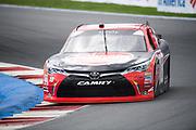 September 28-30, 2018. Charlotte Motorspeedway, Xfinity Series, Drive for the Cure 200: Ryan Preece, Joe Gibbs Racing, Toyota