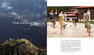 The Kingdom of Bhutan.<br />