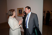 Joan Bakewell; Ed Vaizey, Gauguin, Tate Modern. London. 28 September 2010. -DO NOT ARCHIVE-© Copyright Photograph by Dafydd Jones. 248 Clapham Rd. London SW9 0PZ. Tel 0207 820 0771. www.dafjones.com.