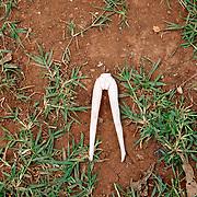 Kenya. Kisumu. Barbie legs.