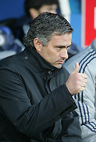 Photo: Lee Earle.<br /> Portsmouth v Chelsea. The Barclays Premiership. 03/03/2007.Chelsea manager Jose Mourinho.