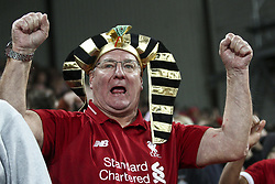 October 24, 2018 - Liverpool, United Kingdom - Liverpool supporter during the Uefa Champions League Group Stage football match n.3  Liverpool v FK Crvena Zvezda on October 24, 2018, at the Anfield Road in Liverpool, England. (Credit Image: © Matteo Bottanelli/NurPhoto via ZUMA Press)