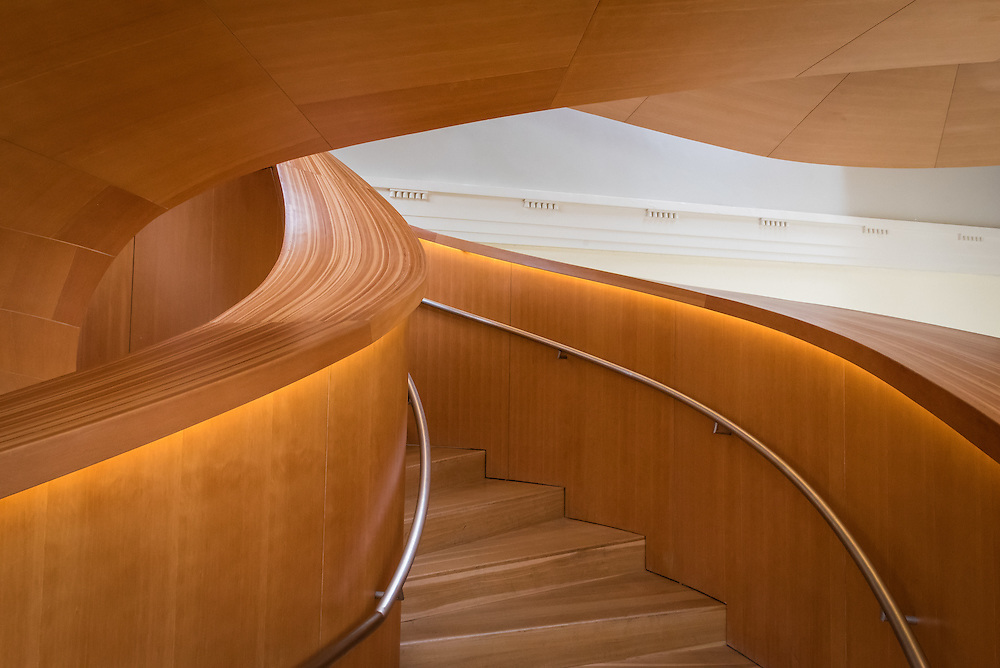 AGO Gehry Staircase