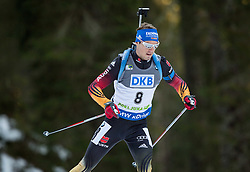 SCHEMPP Simon (GER) competes during Men 10 km Sprint at day 2 of IBU Biathlon World Cup 2014/2015 Pokljuka, on December 19, 2014 in Rudno polje, Pokljuka, Slovenia. Photo by Vid Ponikvar / Sportida
