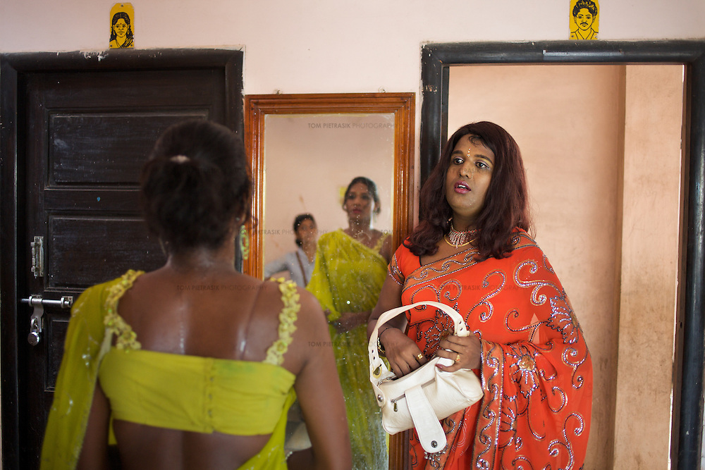 Transexual, Transgenders And Aravani Gay Men In Tamil Nadu -6958