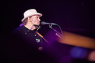 Neil Young performing at Farm Aid 2011