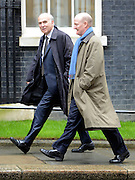 © Licensed to London News Pictures. 01/05/2012. London, UK . Business Secretary Vince Cable (l) and Minister of State for Universities and Science David Willets. Cabinet ministers in Downing Street for the Cabinet Meeting on 1st May 2012. Photo credit : Stephen Simpson/LNP