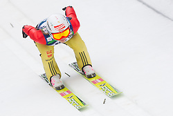 Katharina Althaus of Germany during Normal Hill Individual Competition at FIS World Cup Ski jumping Ladies Ljubno 2012, on February 11, 2012 in Ljubno ob Savinji, Slovenia. (Photo By Vid Ponikvar / Sportida.com)