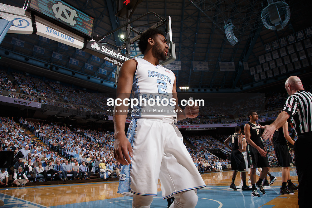 CHAPEL HILL, NC - JANUARY 20: Joel Berry II #2 of the North Carolina Tar Heels plays against the Wake Forest Demon Deacons on January 20, 2016 at the Dean E. Smith Center in Chapel Hill, North Carolina. North Carolina won 68-83. (Photo by Peyton Williams/UNC/Getty Images) *** Local Caption *** Joel Berry II