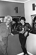 Two punks, at an Adam & The Ants gig, UK, 1980.