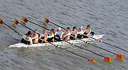 London, Great Britain,  Tideway Scullers School, Crew C, at the start of the 2009 Women's Head of the River Race, raced over Rowing Course Championship course,  Mortlake to Putney  4.25 Miles, on the River Thames.   Saturday, 07.03.2009. [Mandatory Credit: © Peter Spurrier/Intersport Images]