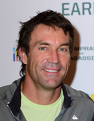 Pat Cash attends World Tennis Day Showdown press conference ahead of his participation in World Tennis Day Showdown today, where Agassi will play Sampras, and Lendl will play Cash in memory of their 'epic Grand Slam rivalries', at The Athenaeum Hotel, 116 Piccadilly, London, United Kingdom. Monday, 3rd March 2014. Picture by Nils Jorgensen / i-Images