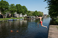 Zwemmen in de gracht