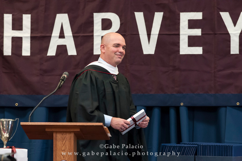 Centennial Commencement at the Harvey School on June 9, 2016. (photo by Gabe Palacio)