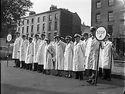 Traffic Wardens for Dublin Schools.01/10/56