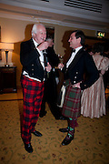 PETER BEAUCLERK-DEWAR; CDR. CALUM SILLARS. 2009 Royal Caledonian Ball in aid of various Scottish charities , Great Room, Grosvenor House. London. 1 May 2009.