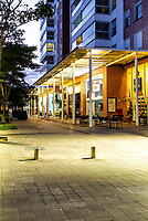 Passeio Pedra Branca ao anoitcer. Palhoça, Santa Catarina, Brasil. / Passeio Pedra Branca neighborhood at evening. Palhoca, Santa Catarina, Brazil.