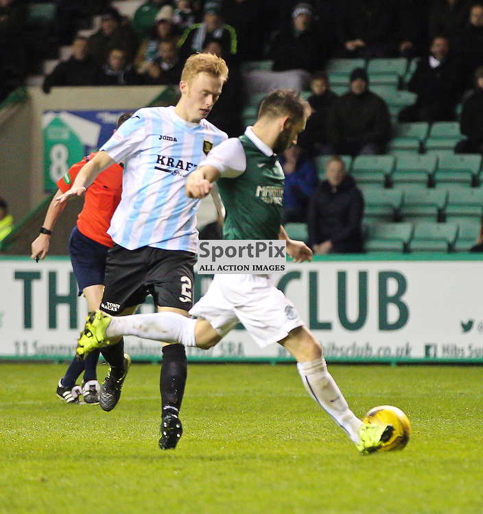 Hibernian v Livingston Scottish Championship 17 November 2015; James Keatings (Hibernian, 19) scores his first during the Hibernian v Livingston Scottish Championship match played at Easter Road Stadium, Edinburgh; <br /> <br /> <br /> <br /> &copy; Chris McCluskie | SportPix.org.uk