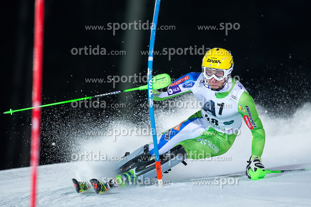 Stefan Hadalin (SLO) during the 7th Mens' Slalom of Audi FIS Ski World Cup 2016/17, on January 24, 2017 at the Planai in Schladming, Austria. Photo by Martin Metelko / Sportida